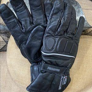 NWOT Schoeller Motorcycle Waterproof Gloves Sz M